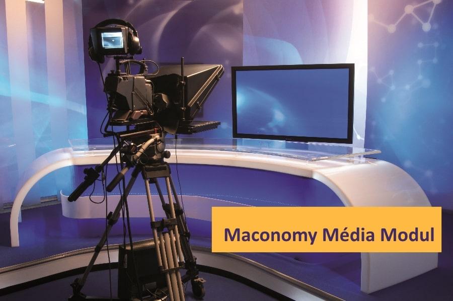 Maconomy média menedzsment modul