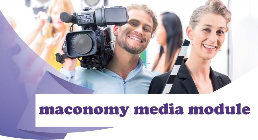 Maconomy ERP rendszer média modul