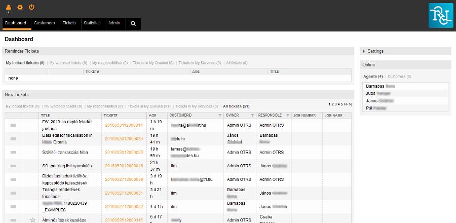 Maconomy vállalatirányítási rendszer Help Desk - Integrált bejelentés kezelés