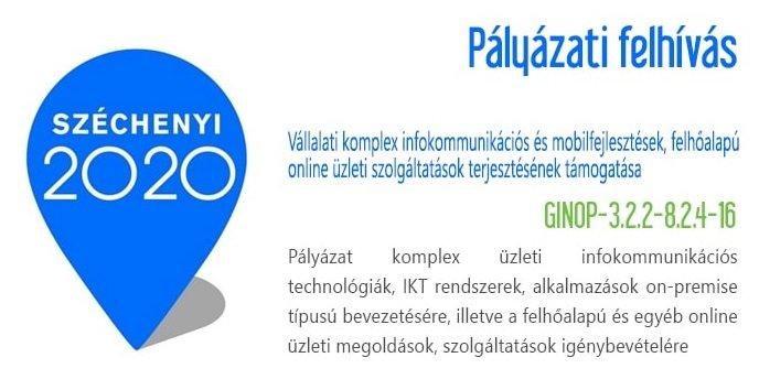 ERP pályázat - GINOP 322