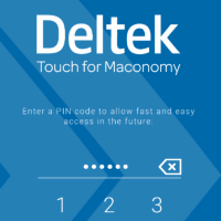 Maconomy ERP Touch kliens