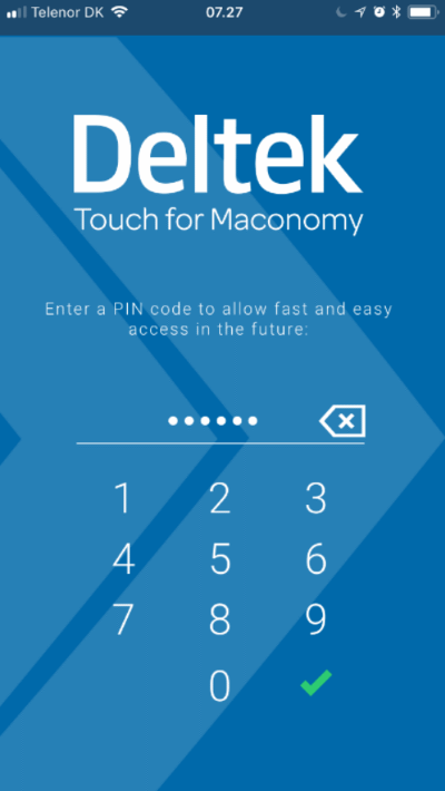 Maconomy ERP Touch 3.0