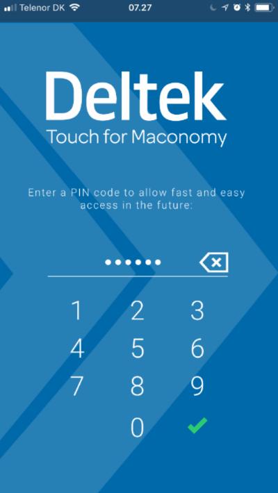 Maconomy ERP Touch 3.0