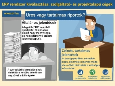 Általános vagy iparág specifikus projekt alapú ERP rendszer
